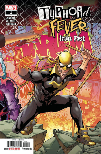 Typhoid Fever Iron Fist - State of Comics