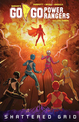 Go Go Power Rangers TP Vol 03