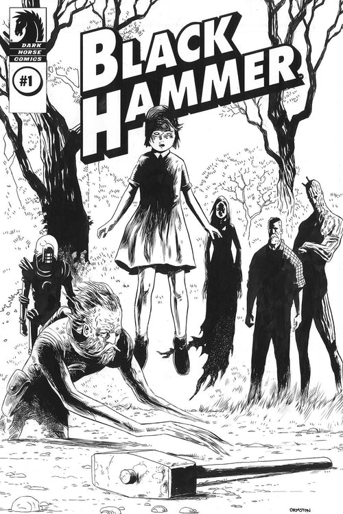Black Hammer #1 Director's Cut