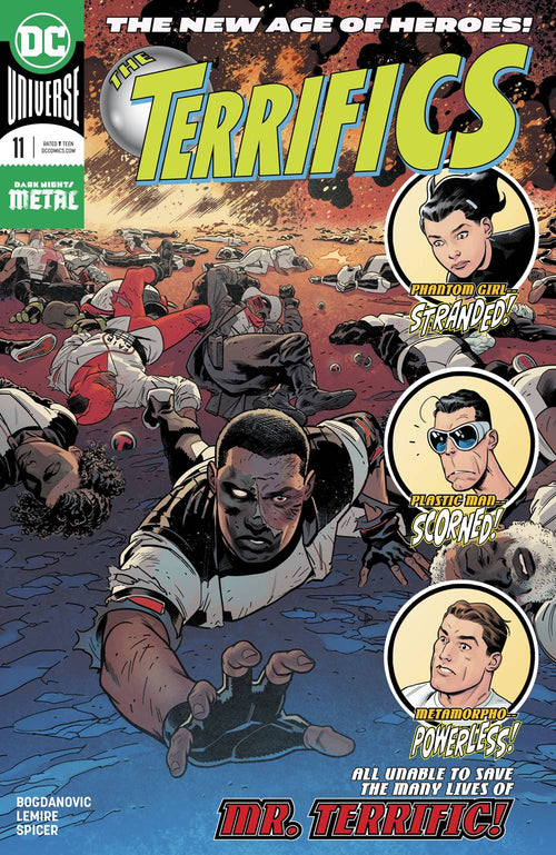 Terrifics #11 - State of Comics
