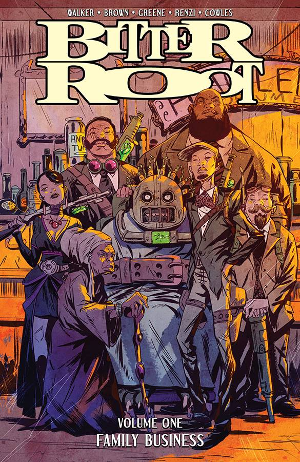 Bitter Root TP Vol 01 Family Business - State of Comics