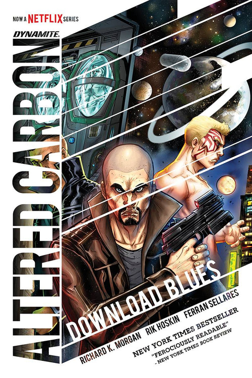 Altered Carbon Download Blues HC - State of Comics