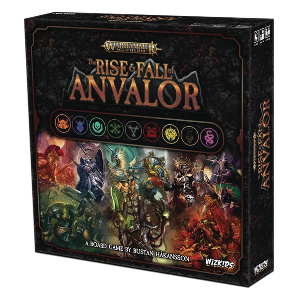 Warhammer Age of Sigmar The Rise & Fall of Anvalor Board Game - State of Comics