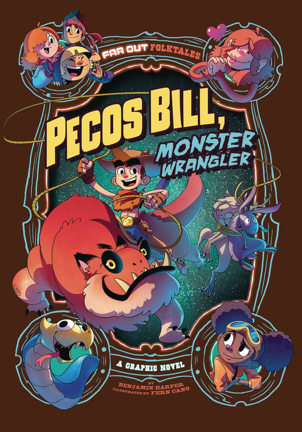 Pecos Bill Monster Wrangler GN - State of Comics