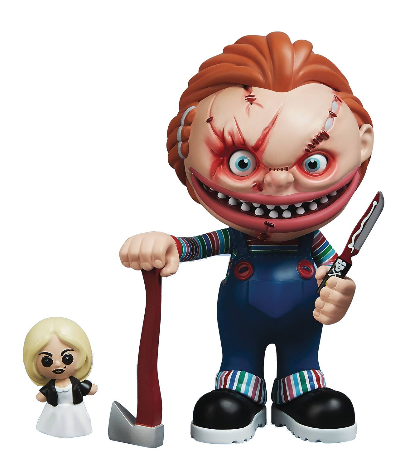 Stingrayz Eek! Series 1 Child's Play Chucky Figure