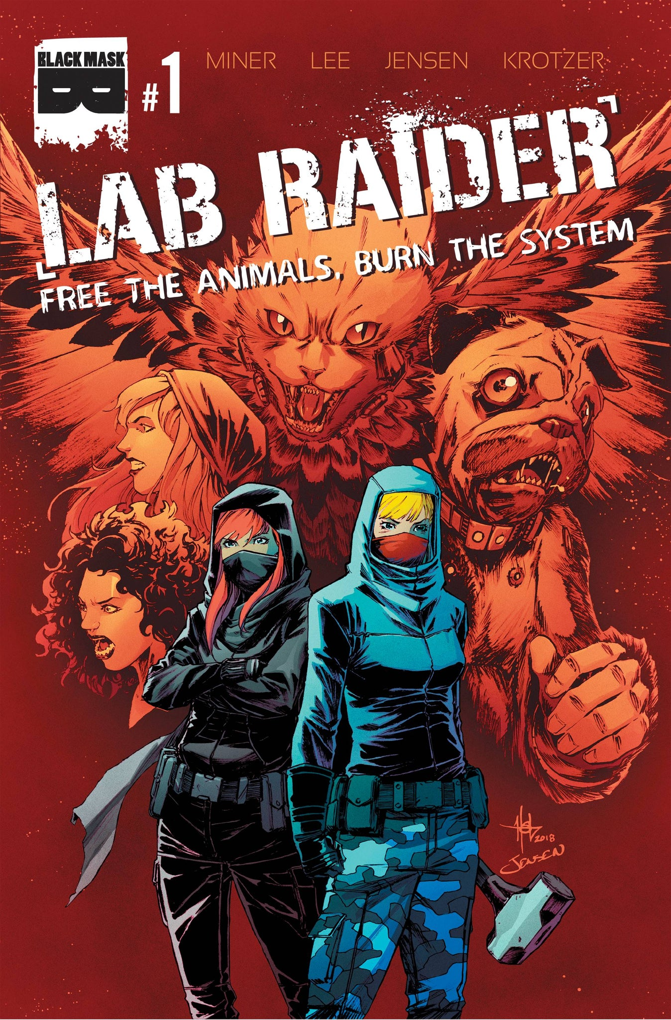 LAB RAIDER #1 (OF 4) (MR)