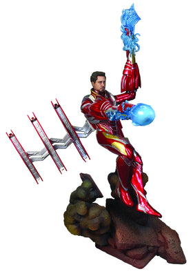 Marvel Gallery Avengers 3 Unmasked Iron Man MK50 Deluxe PVC Figure