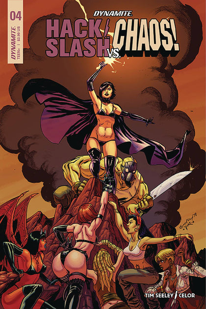 Hack Slash Vs. Chaos #4