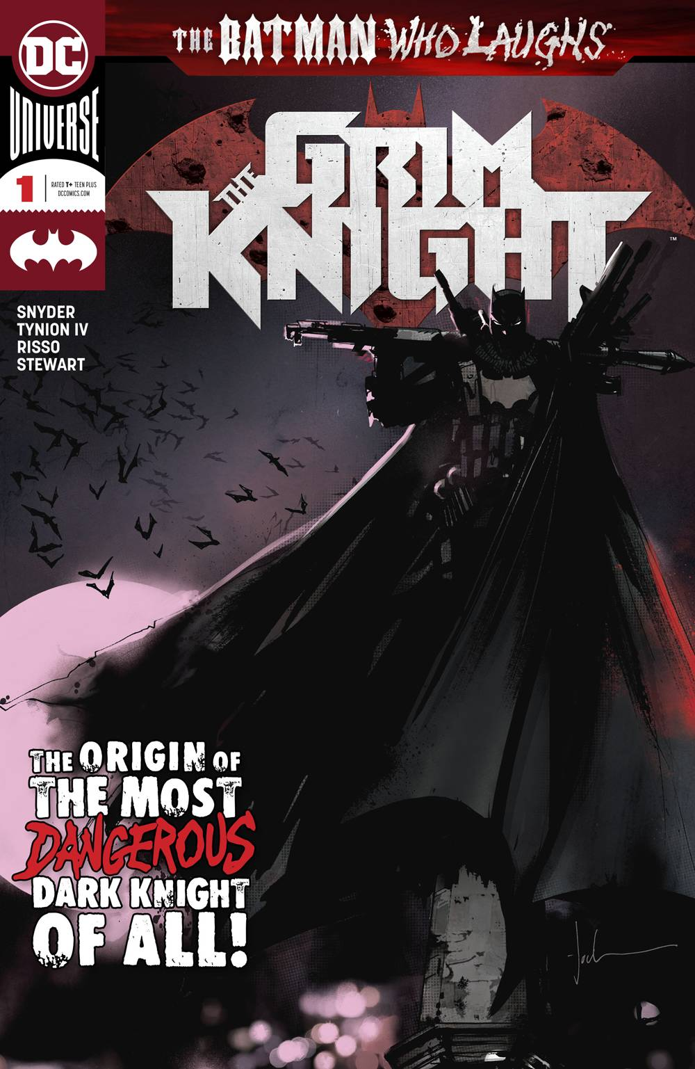 Batman Who Laughs Grim Knight #1