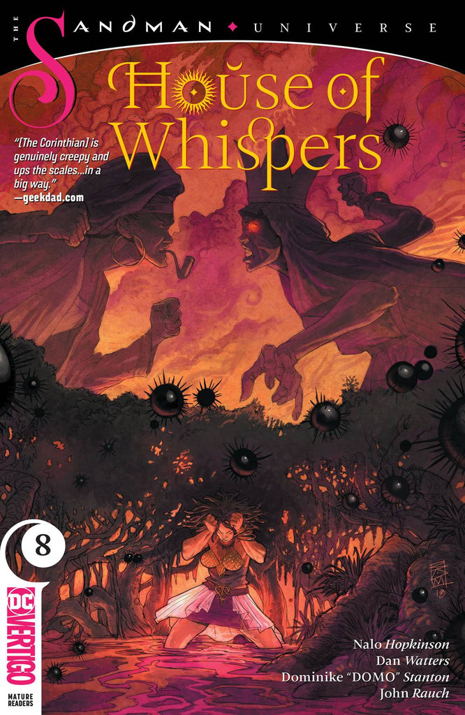 Sandman Universe House of Whispers #8