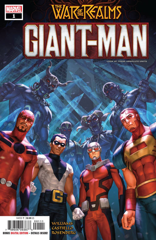 GIANT MAN #1 - State of Comics