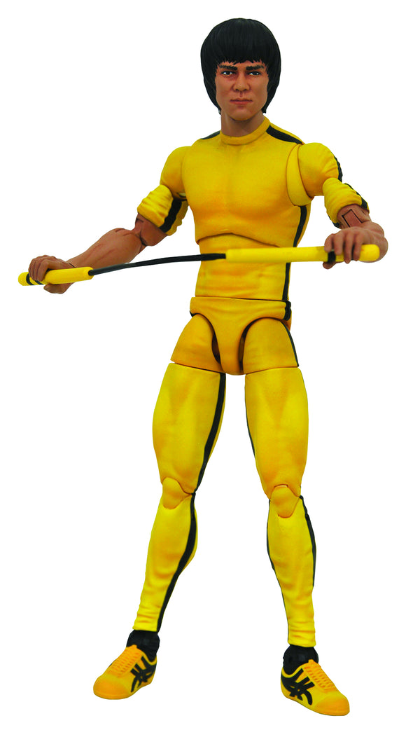 Bruce Lee Select Yellow Jumpsuit AF - State of Comics