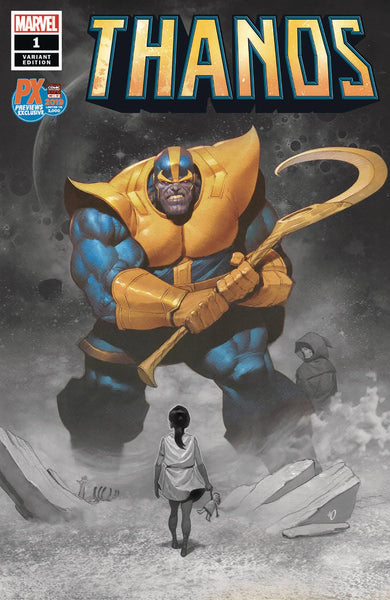 Thanos #1 (of 6) C2E2 Dekal Var Ed