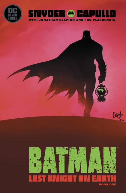 BATMAN LAST KNIGHT ON EARTH #1 (OF 3) (MR)