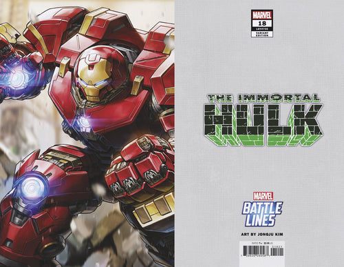 IMMORTAL HULK #18 JONGJU KIM MARVEL BATTLE LINES VAR - State of Comics