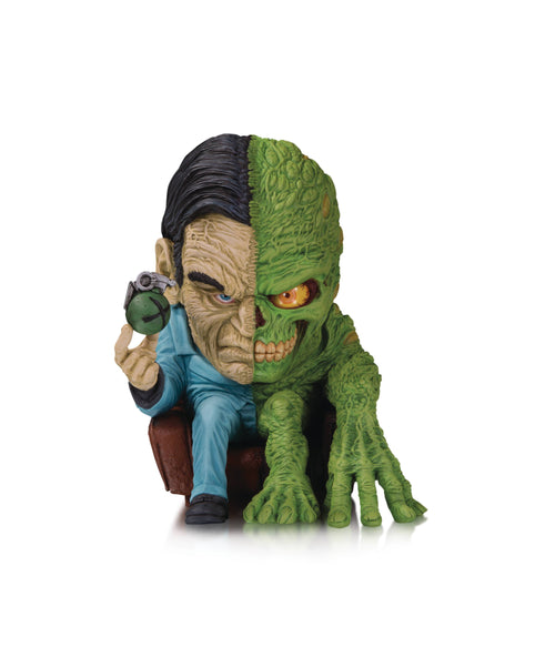 DC Artists Alley Two Face by Groman Vinyl Fig - State of Comics