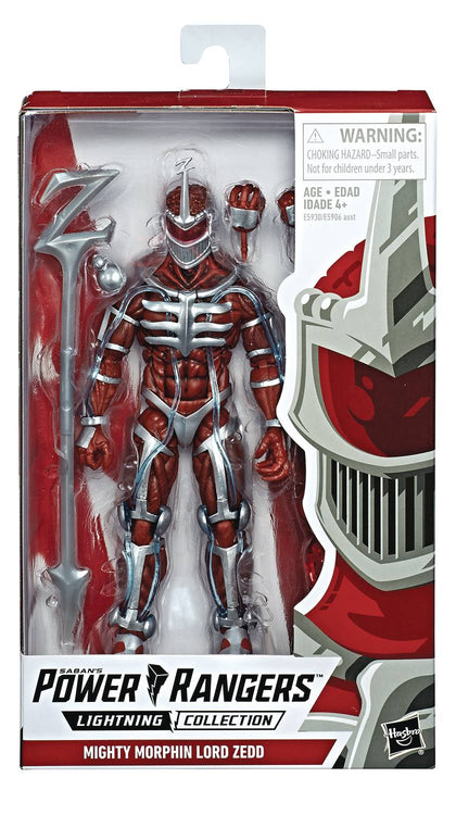 Power Rangers Lightning MMPR Lord Zedd 6in AF
