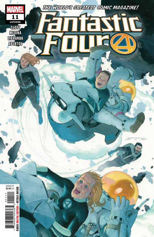 FANTASTIC FOUR #11 - State of Comics