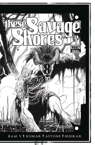 These Savage Shores #1 B&W