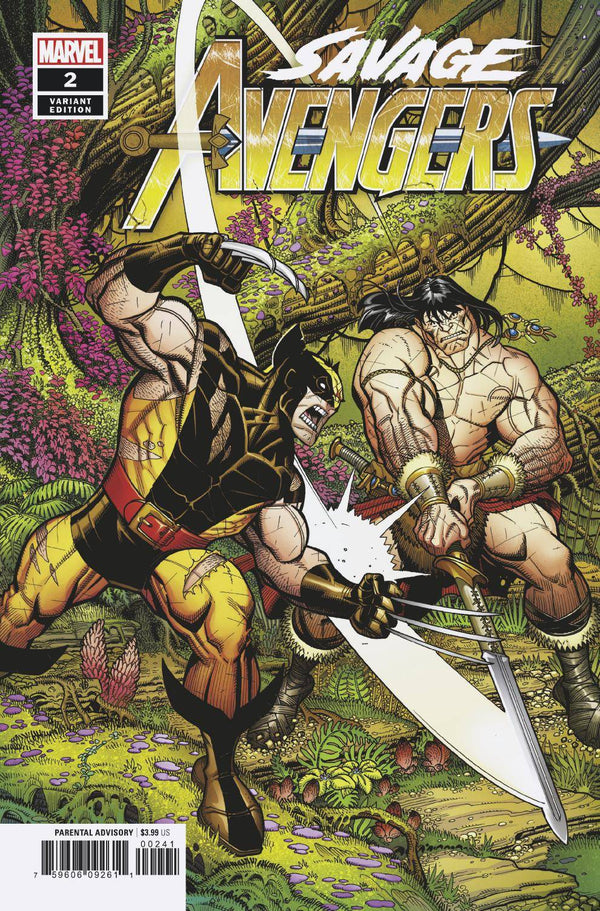 Savage Avengers #2 Bradshaw 1:25 Incentive Var - State of Comics