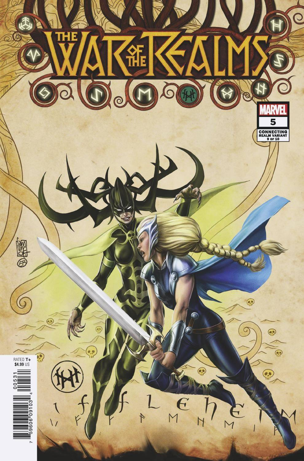 WAR OF REALMS #5 (OF 6) CAMUNCOLI CONNECTING REALM VAR