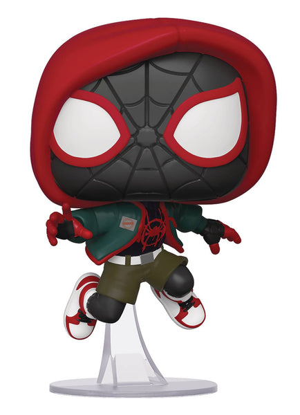 POP Marvel Into the Spiderverse Miles Morales Casual PX Exclusive Funko POP - State of Comics