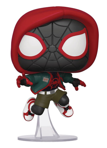 POP Marvel Into the Spiderverse Miles Morales Casual PX Exclusive Funko POP