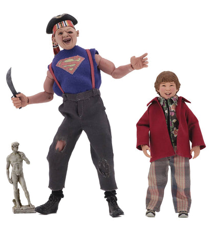 Goonies Sloth & Chunk 8in Retro 2 Pack