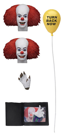IT 1990 Pennywise Version 2 Ultimate 7 in AF