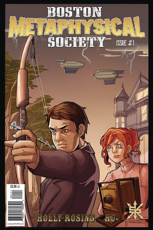 Boston Metaphysical Society #1 - State of Comics