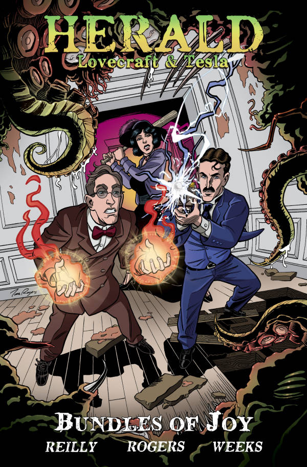 Herald Lovecraft and Tesla TP Bundles of Joy - State of Comics