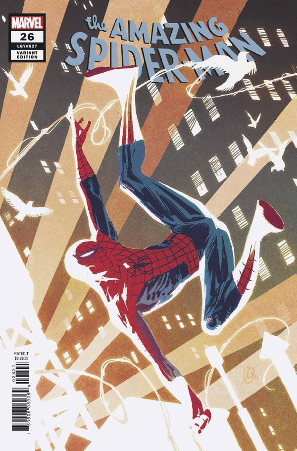 Amazing Spider-Man #1 Garney 1:25 Incentive Var - State of Comics