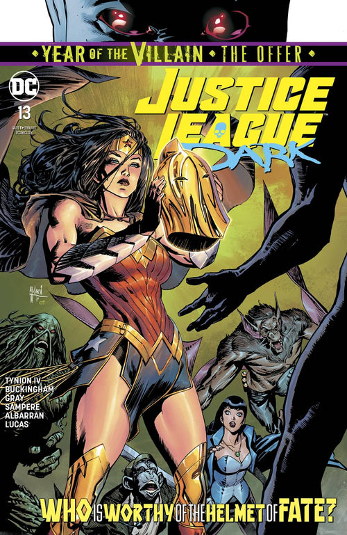Justice League Dark #13 YOTV The Offer - State of Comics