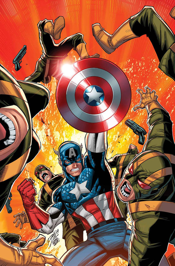 Captain America Invaders Bahamas Triangle #1 - State of Comics