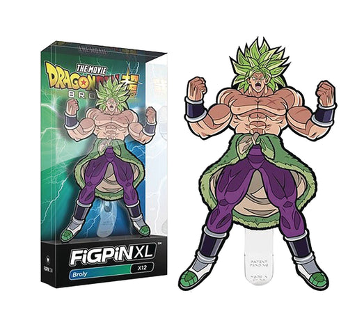 Figpin XL Dragonball Super Broly Movie Broly Pin - State of Comics