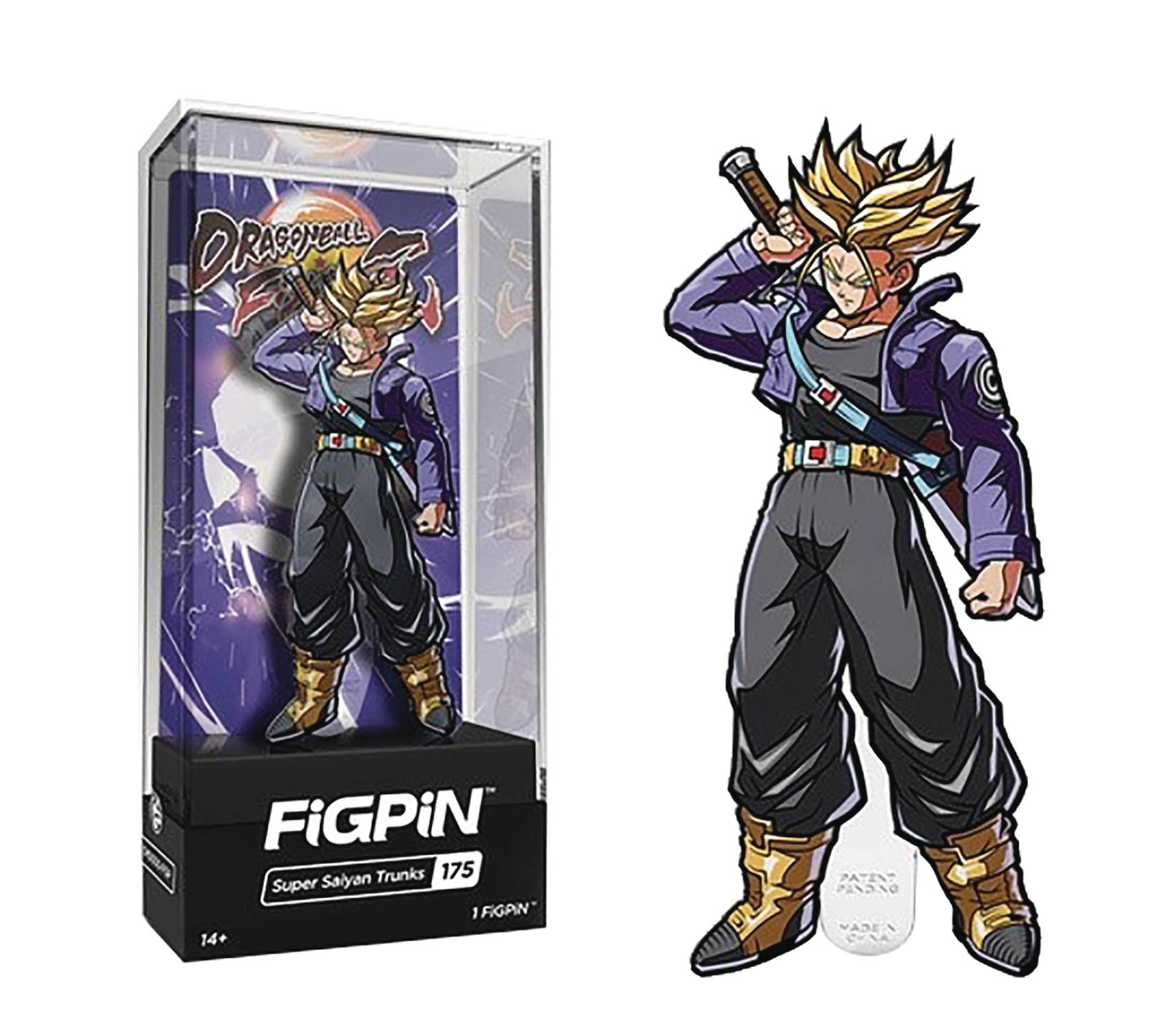 Figpin Dragonball Fighterz Super Saiyan Trunks Pin