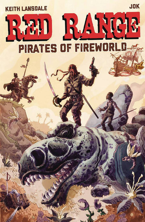 Red Range Pirates of the Fireworld #1 - State of Comics