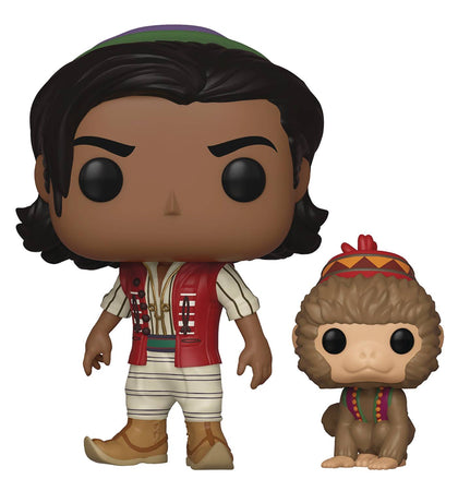 POP Movie Disney's Aladdin Aladdin of Agrabah with Abu Funko POP