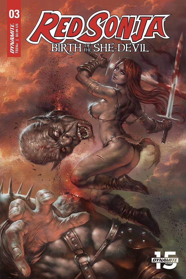 Red Sonja Birth of She Devil #3