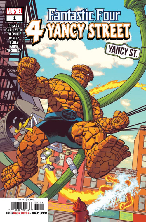 Fantastic Four 4 Yancy Street #1 - State of Comics