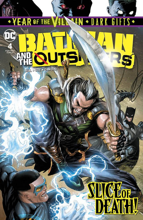 Batman and the Outsiders #4 YOTV Dark Gifts - State of Comics