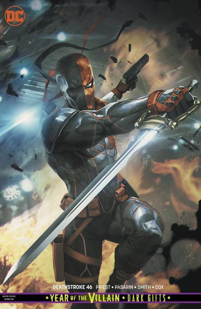 Deathstroke #46 YOTV Dark Gifts