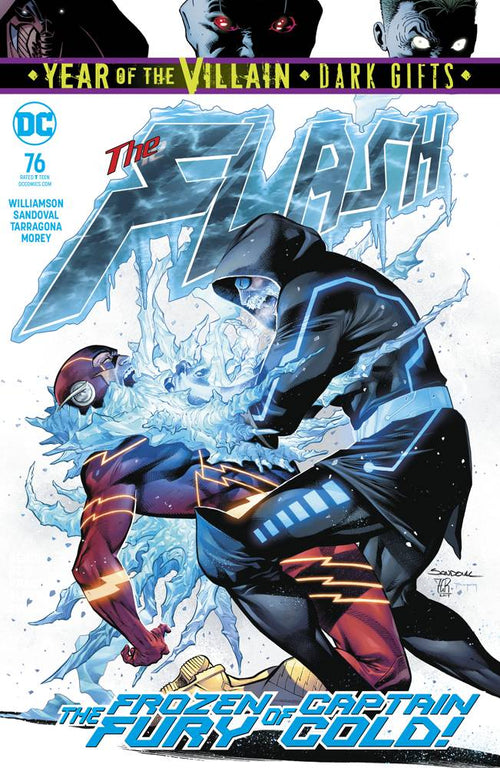 Flash #76 YOTV Dark Gifts - State of Comics
