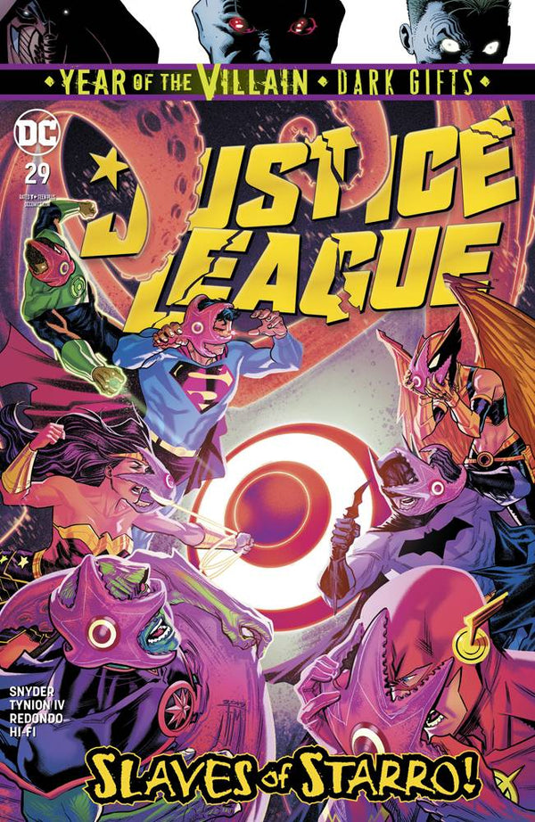 Justice League #29 YOTV Dark Gifts - State of Comics