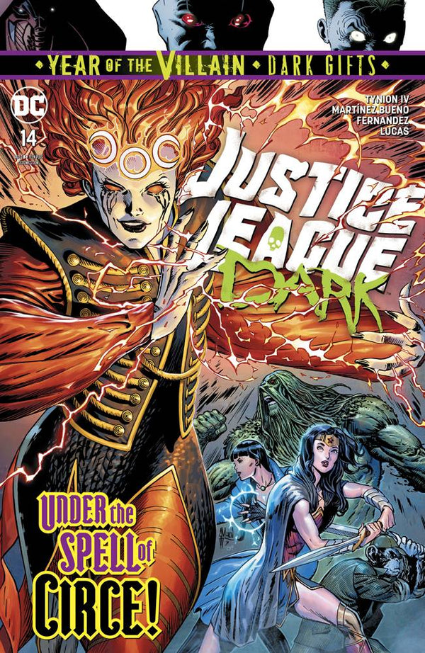 Justice League Dark #14 YOTV Dark Gifts - State of Comics