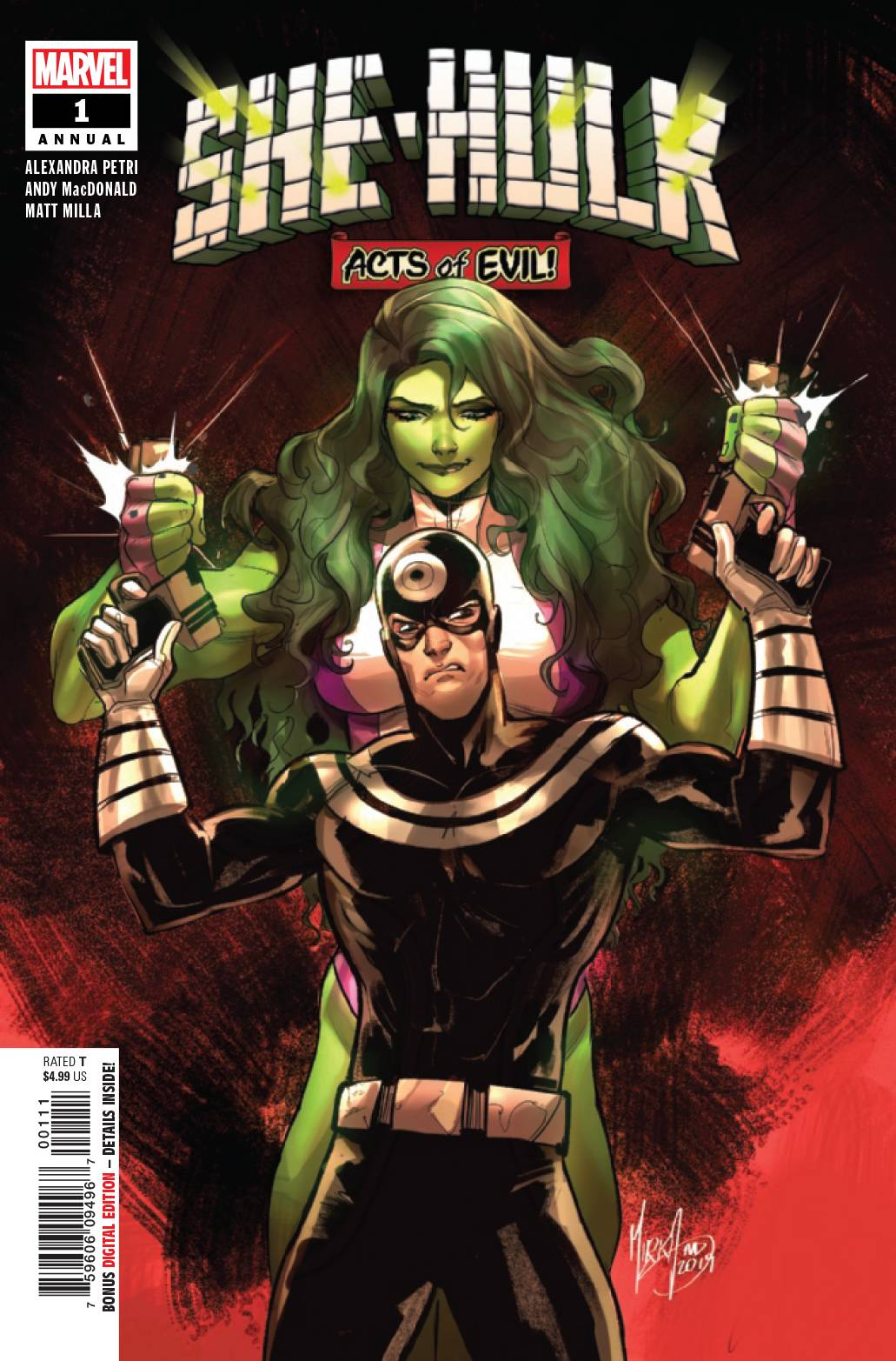 She-Hulk Annual #1