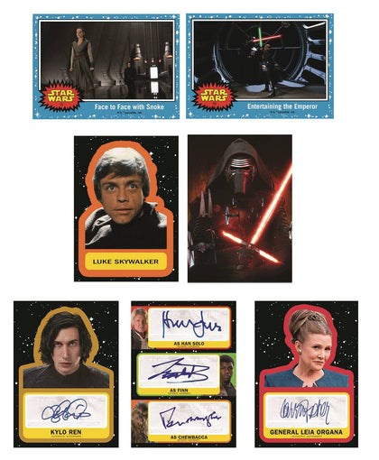 Topps Star Wars Journey to Episode 9 T/C Pack