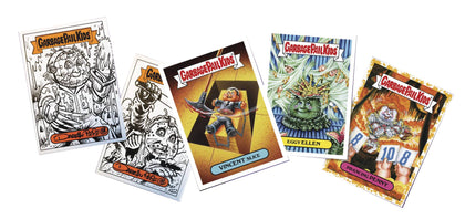 Topps 2019 Garbage Pail Kids Series 2 The Horror-Ible Sticker Cards