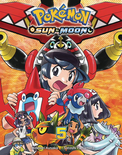 Pokemon Sun & Moon GN Vol 05