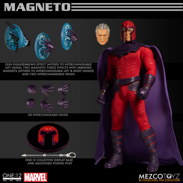 One-12 Collective Marvel Magneto AF